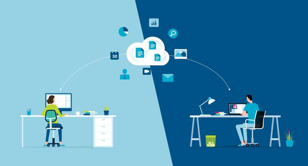 Concept de digital workplace